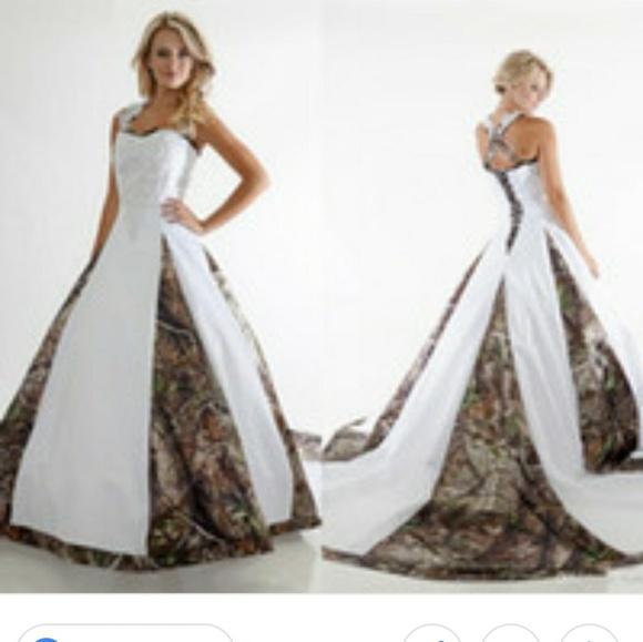 Camo Wedding Dresses.Camo Wedding Dress